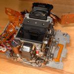 F90 Spiegelgehäuse mit AF Modul und Blendensteuerung